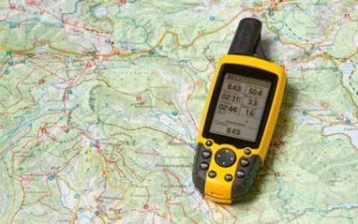 GPS-Satellitenortung