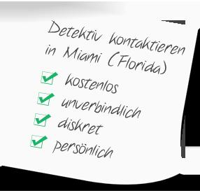Detektiv-Büro Miami (Florida)