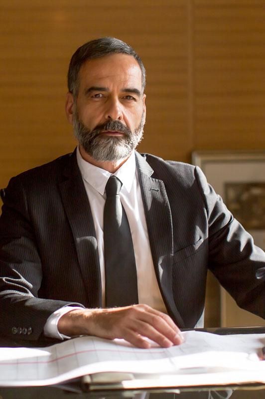 Portrait Detektiv J. Chapman